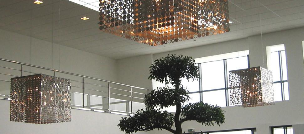 Bubble ceiling light