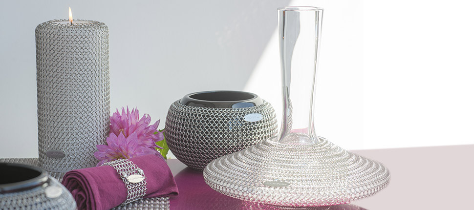 Chainmail deco objects