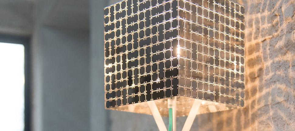 Square lamp Fractale 450 und 600